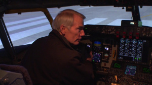 121st Air Refueling Wings Opens KC 135 Flight Simulator