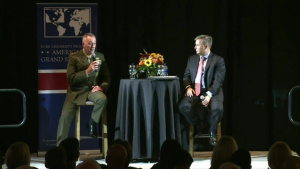 Joint Chiefs Chairman Talks to Future Policymakers at Duke