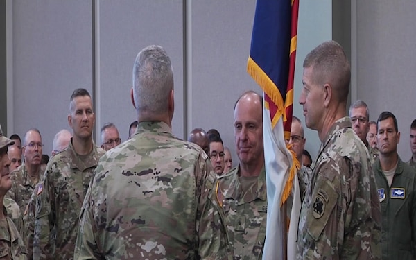 Georgia State Defense Force Change in Command Ceremony