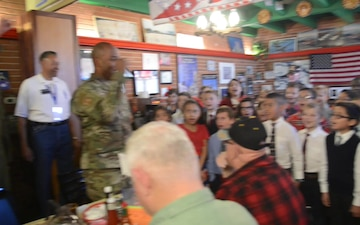 Edwards command team brews relationship with local Veterans