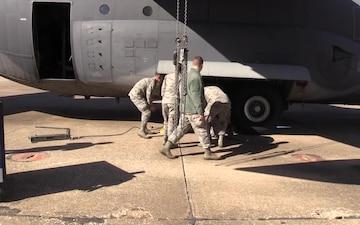 362nd Training Squadron C-130 crew chief apprentice course receives new GITA