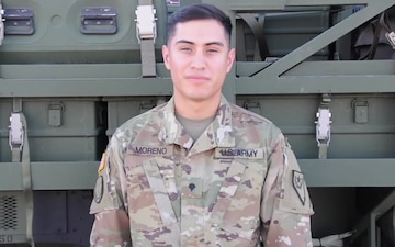 Spc. Marcos Moreno Golden Knights Shout Out