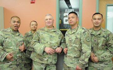 Nevada National Guard Group Shout Out for Golden Knights