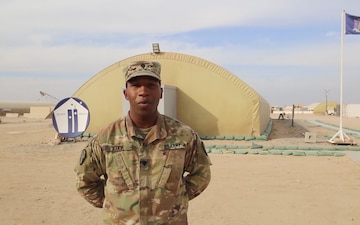 SPC Tyrell Cook Shoutout to the New York Islanders