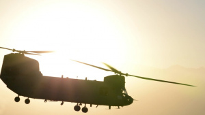 Bagram PJ and CRO Footage Part 2 - On-Ground Hoist Training and CH-47 Chinook Takeoffs and Landings