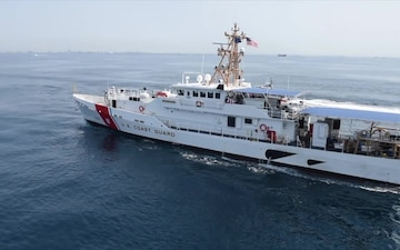 Coast Guard Commissions New Cutter in Los Angeles