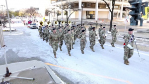 484th Army Reserve Band Veteran's Day Parade Milwaukee, WI Nov. 10, 2018