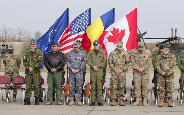 B-Roll: Canada Remembrance Day Ceremony