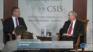 Undersecretary for Research and Engineering Discusses Missile Defense