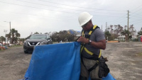 Operation Blue Roof Mexico Beach Installation
