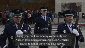 Luxembourg, U.S. Gather in Honor of Veterans Day