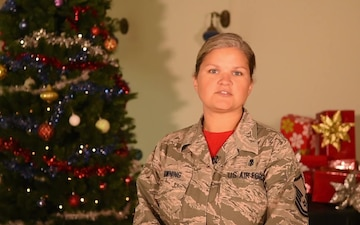 MSgt Cheryl Chowning Holiday Greeting