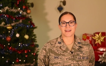 Capt. Sarah Ganz Holiday Greeting