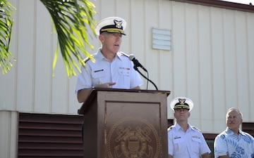 Ribbon Cutting Ceremony for Coast Guard Medical Center