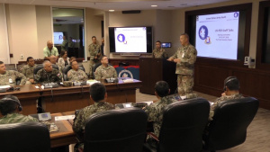 U.S. Peruvian Army Staff Talks