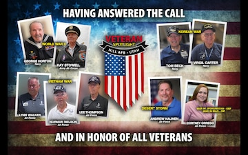 "2018 Veteran Spotlight Campaign - Social Media Animation/Video ""We Thank You For Your Service"""