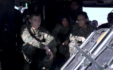 JROTC cadets tour Marine Corps Air Station Camp Pendleton B-Roll