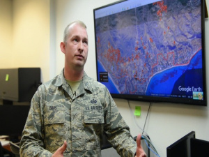 195th Air National Guard Wing intel support for California fires