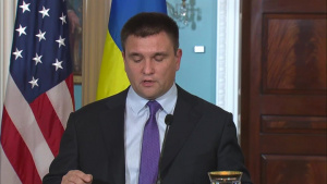 Secretary Pompeo remarks with Ukrainian Foreign Minister Pavlo Klimkin, as part of the U.S.-Ukraine Strategic Partnership Commission, at the Department of State