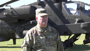 Maj. Gen. Hamilton takes command of Texas Division