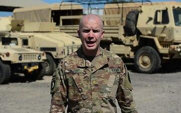 Major Seivert Happy Thanksgiving Greeting