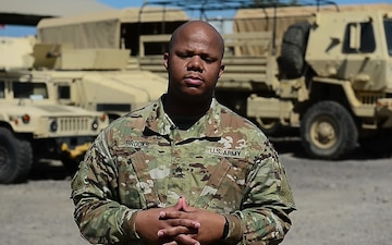Sgt. Brooks Thanksgiving Greeting and Dallas Cowboys Shoutout