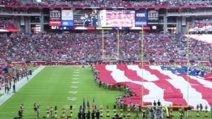 NFL Arizona Cardinals Salute to Service Game