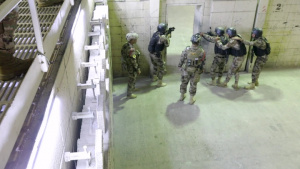 CTS conducts shoot house training