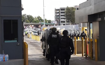 CBP executes planned readiness exercise at San Ysidro Port of Entry
