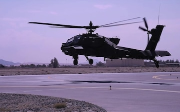 Apache Taking Off