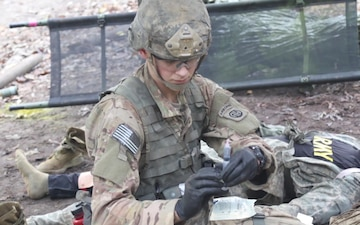 Soldiers strive to earn the coveted Expert Field Medical Badge