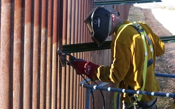 937th Route Clearance Company installs C-Wire in Arizona