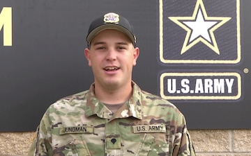 SPC Phillip Jungman Wishes Caldwell, TX a Merry Christmas