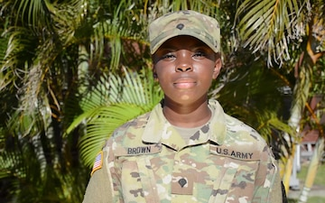 Spc. Sierra Brown Holiday Greeting