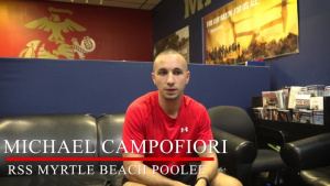 Leukemia survivor overcomes odds for chance to earn title U.S. Marine