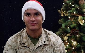 Holiday Greeting - Cpl Edgar Botello (San Ygnacio, Texas)