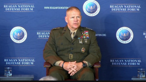 Marine Corps Commandant Participates in National Defense Forum Panel