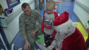 Knoxville Airmen Turn Into 'Santa Cops' to Spread Holiday Cheer