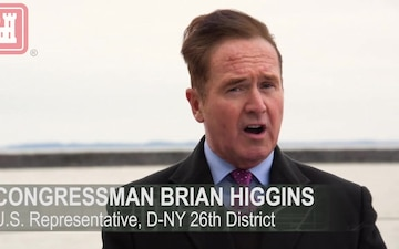 Congressman Brian Higgins Joins USACE Buffalo District to Announce $12.445 Million for Buffalo Harbor Improvements