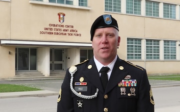 Sgt. 1st Class Michael Hile holiday shout out