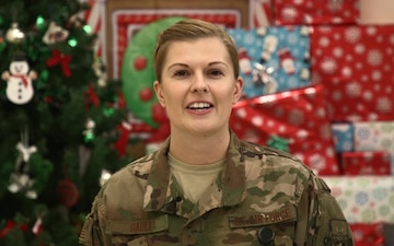 Capt. Anna Gault Holiday Shout-out