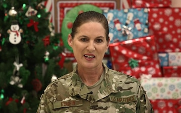 Lt. Col. Debbie Eskew Holiday Shout-out