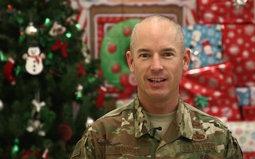Lt. Col. Kiley Stinson Holiday Shout-out