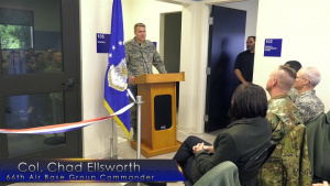 Airmen, senior leaders open new enlisted dorm