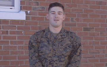 Lance Cpl. Mitchell Emard Good Morning America Shout-out