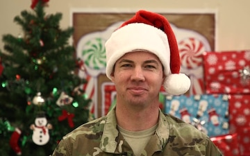 Maj. Adam Brueggen Holiday Shout-out