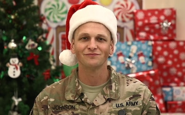 Sgt. 1st Class Brandon Johnson Holiday Shout-out