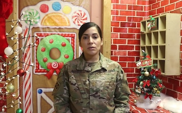 Holiday Greetings - Maj. Sheila Agosto (spanish)