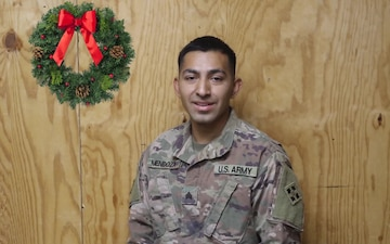 Holiday Greetings - Sgt. Jose Mendozamiranda (spanish)