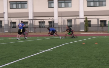 MCAS Iwakuni service members kick off the holidays on the gridiron (Package/Pkg)